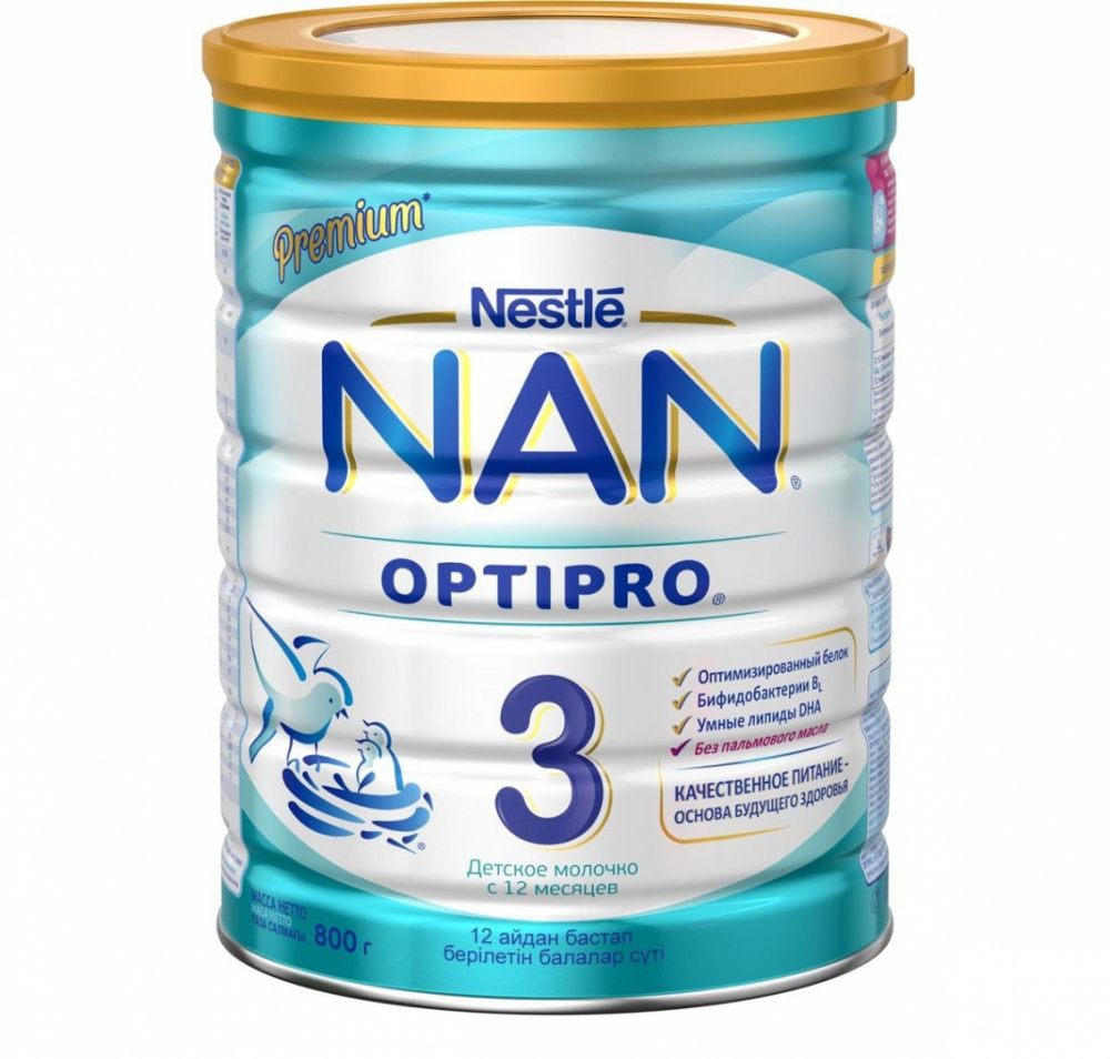 Смесь Nestle Nan-3 Optipro 800г ж/б